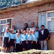 孤児院をイメージする写真
